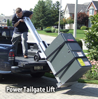 Power tailgate lift