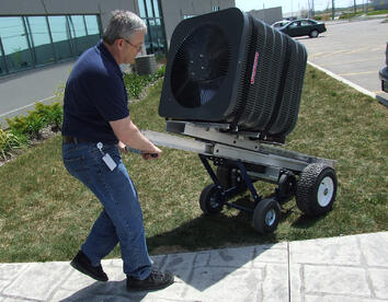 PowerMate® Model LE-1 with Rough Terrain Cart