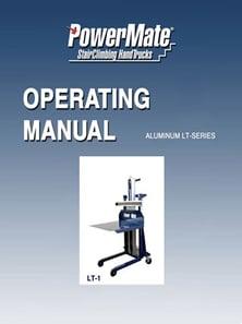 Tapa del manual de la serie LT