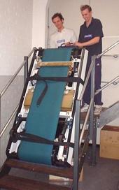 PowerMate moves exercise equipment