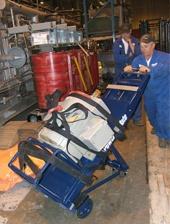 Lift kit for the M-Series for bottom heavy loads