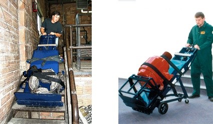The PowerMate M-1 is a stair climbng hand truck