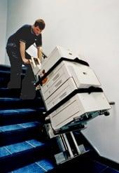 LE-1 moves copier