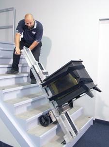 爬楼梯手推车