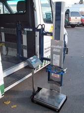 Side door mounted LiftGate