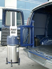 PowerMate Liftgate with cylinder
