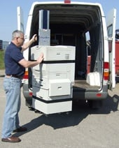PowerMate Liftgate with photocopier