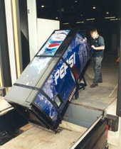 The M-2B is a loading dock leveller