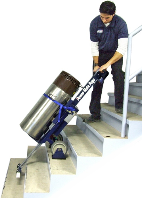 Powermate stairclimbing model pogo p 2 for Motorized stair climbing dolly