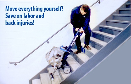 Save on labor costs! Save your back!