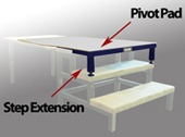 Step Extension and Pivot Pad