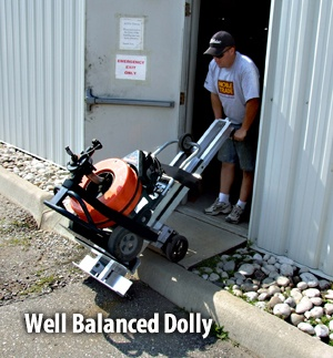 Moving drain cleaner