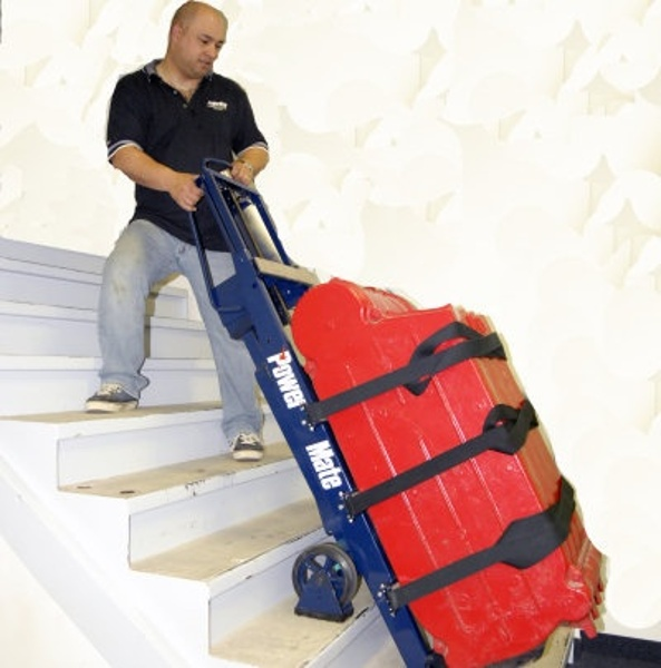 Powermate stairclimbing handtruck photo gallery for Motorized stair climbing dolly rental